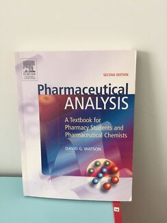 Pharmaceutical analysis 2nd edition  Ellenbrook Swan Area Preview
