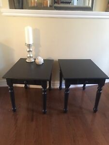 Classic Black End Tables