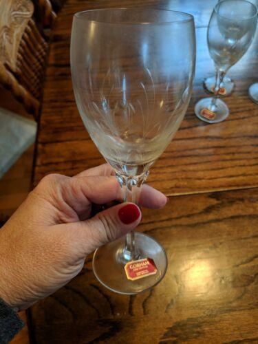 Jolie by GORHAM CRYSTAL Wine Glass set of 4