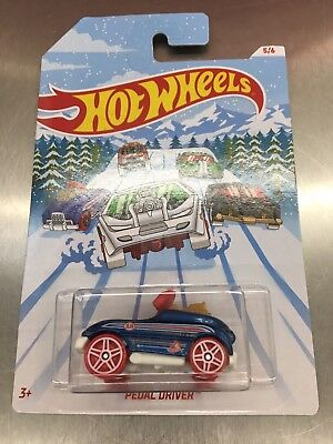 Hot wheels Holiday Hotrods pedal driver 2018