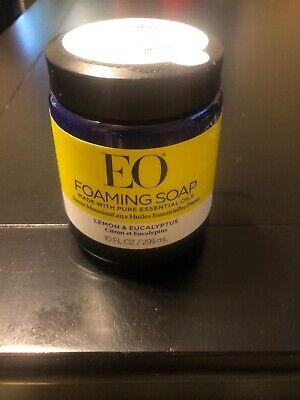 EO Foaming Soap Refill Lemon And Eucalyptus 10 Oz NEW & SEALED Simple Human Lemon Foaming Soap