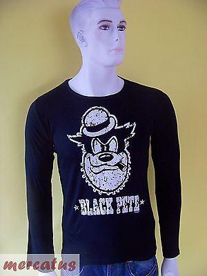 KULT !!! Logoshirt Disney Black Pete schwarz unisex