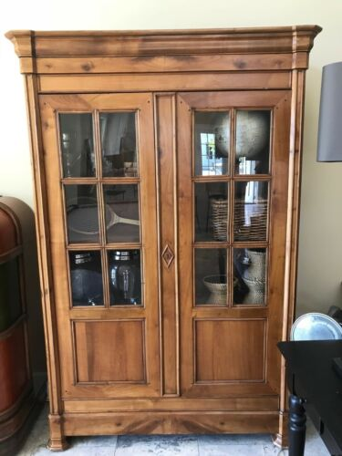 Antique French Armoire, Walnut, Great Shape