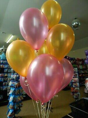 Gold and Pink Balloons, Girls Baby Shower, Wedding Decorations Birthday Party](Gold And Pink Balloons)