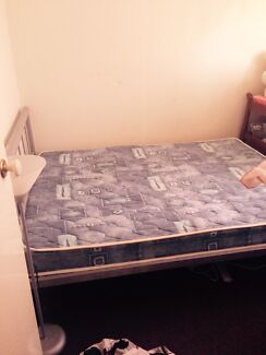 Double bed with mattress like new  Coombabah Gold Coast North Preview