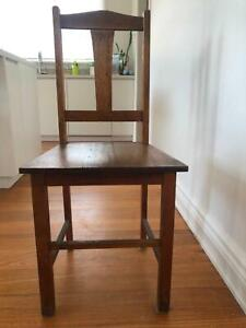 Timber dining chairs SET OF 4 Northcote Darebin Area Preview