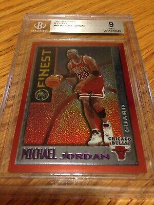 Michael Jordan 1995 96 Topps mystery finest #M1 Chicago Bulls BGS 9