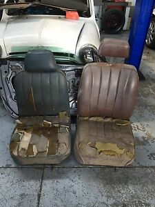 Pair of mini seats Morris leyland ?? Slacks Creek Logan Area Preview