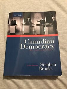 Canadian Democracy: An Introduction (5th Edition)