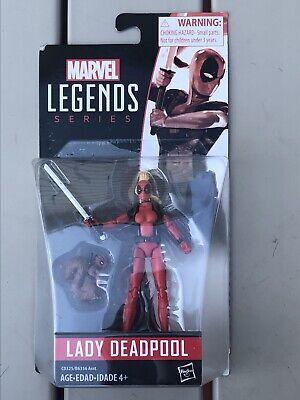 "Marvel Legends Series 3.75"" Lady Deadpool Action Figure Hasbro New"