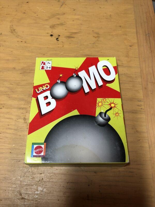Mattel  UNO Boomo Card Game,New/Sealed