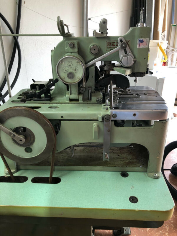 REECE  101 KEYHOLE BUTTONHOLE CHAINSTITCH  INDUSTRIAL SEWING MACHINE