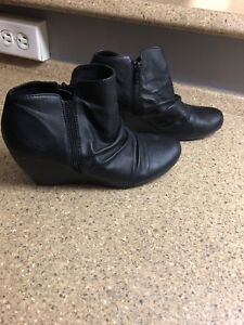Great condition black booties