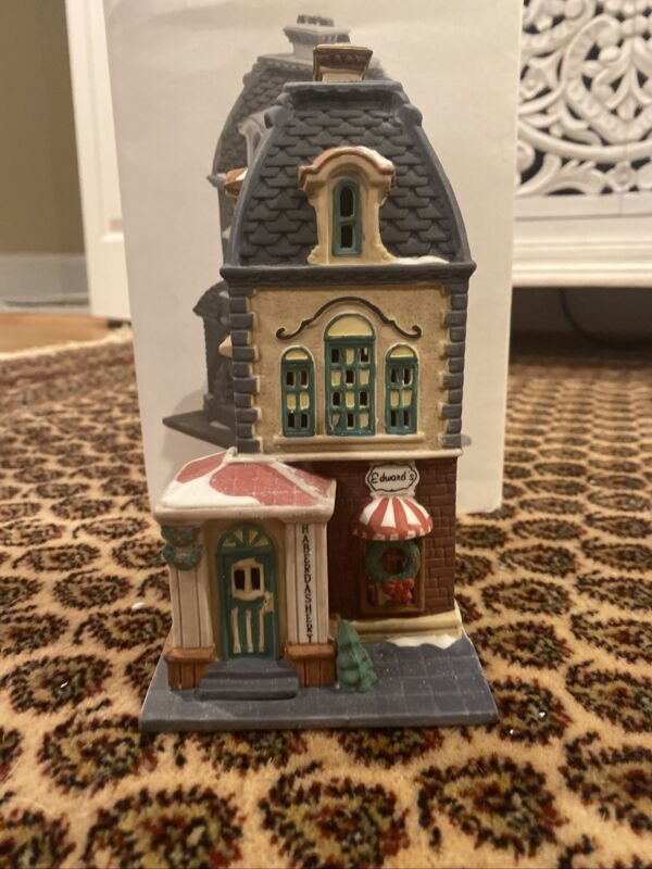 Dept 56 Haberdashery Christmas in the City Series Heritage Village #55310