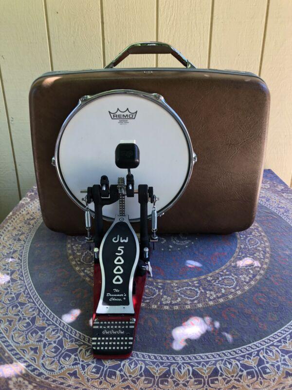 Vintage Suitcase Kick Drum