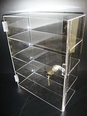 Displays2buy Acrylic Countertop Display 12 X 6 X 16 Locking Security Showcase