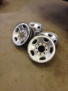 8 bolt GM steel wheels