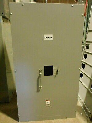 Siemens J6n1 400 Amp 600 Volt 3 4w Circuit Breaker Enclosure- En5
