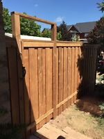 Fences , posts , post replacement , repairs and gates