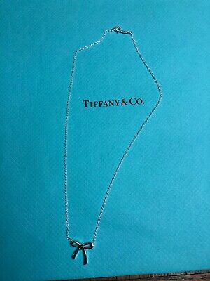 NEW Tiffany & Co. Necklace Mini Bow 16
