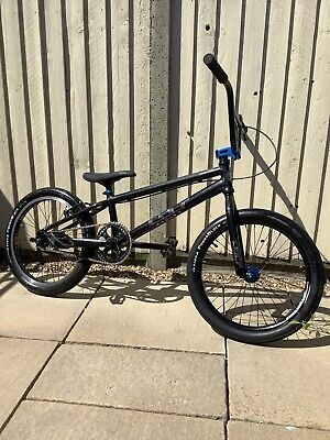 GT Pro Series Race BMX Bike - Limited Edition Black Finish - Light & Quick