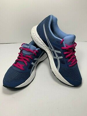 AASICS Gel-Contend 5 Casual Running Stability Shoes - Blue - Womens Size 7