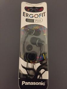 BRAND NEW IN PACKAGE Panasonic Ergofit Stereo Earphones