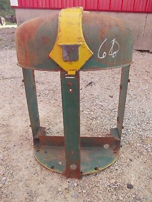 Oliver 66 Tractor Nice Original Front Grill Nose Cone Badge Radiator Cover