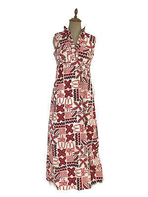 853cd6991b65 Vintage 1971 McDonald's Women's Hawaiian MuuMuu Dress Franchisee Convention  Rare