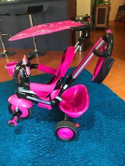 Smart Trike 4 - in - 1 Groove trike - pink