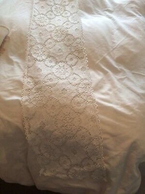 Vintage Lace Table Runner - long Length