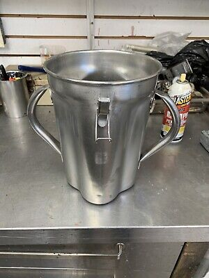 Waring Cb15 1 Gallon Stainless Steel Container