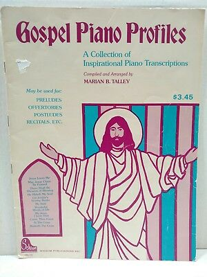1973 Gospel Piano Profiles Collection of Inspirational Piano Marian Talley T20