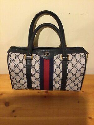 Gucci Vintage GG Supreme Monogram Bag
