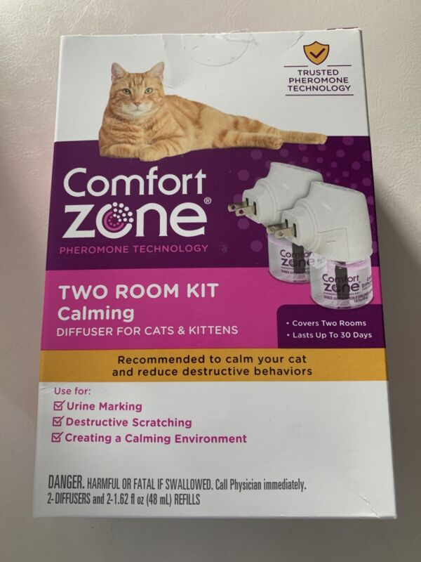 COMFORT ZONE CATS & KITTEN DIFFUSER CALMING TWO ROOM KIT