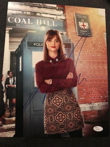 Doctor Who Jenna Louise Coleman Autographed Signed 11x14 Photo JSA COA #7