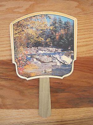 Vintage Iowa Centennial Souvenir Fan 1863-1963 Mike's Radio & TV Coon Rapids