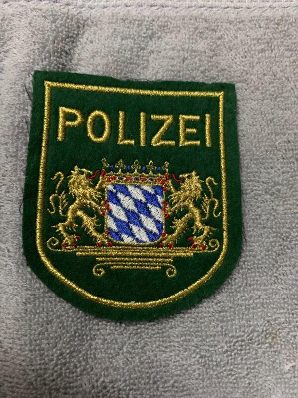 PATCH POLICE GERMANY  Bayern