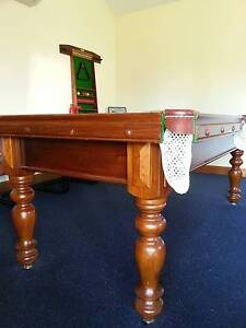7FT X 3FT 6 INCH SLATE POOL TABLE PLUS ACCESSORIES Paradise Campbelltown Area Preview