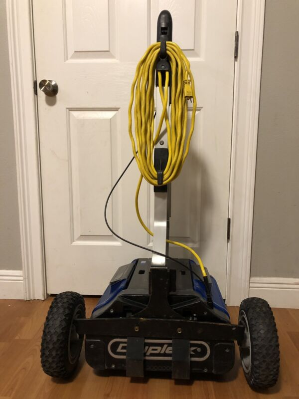Commercial NaceCare Duplex Hydro Washer DP 420 Floor Scrubber Mop With Dolly