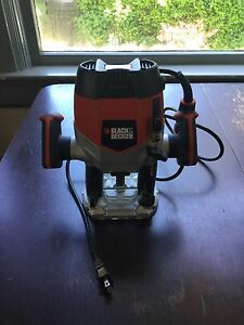 Black & Decker Plunge Router Barely Used
