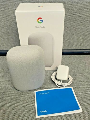 Google Nest Audio Smart Speaker with Google Assistant GA01420 Excellent conditio