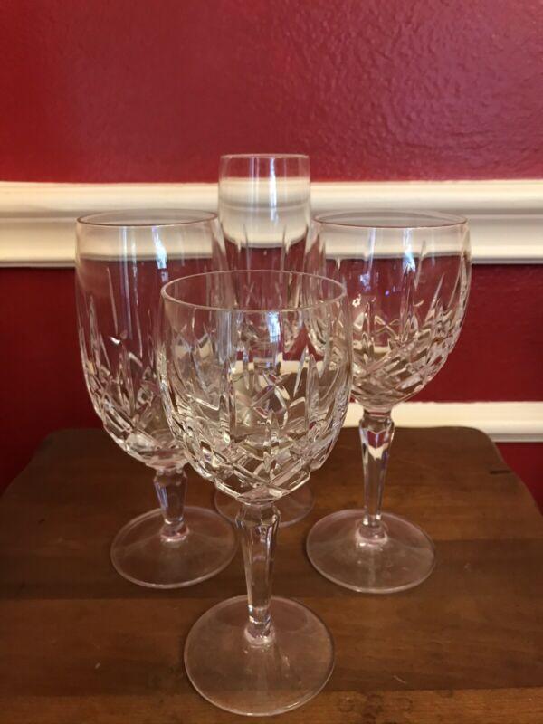 Gorham Lady Anne Crystal Stemware Iced Tea, Red Wine, White Wine, Flutes