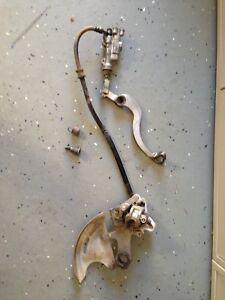 2003 Honda CRF450 Parts - Rear Brake Assembly