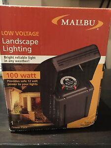 Malibu low voltage landscape lighting transformer