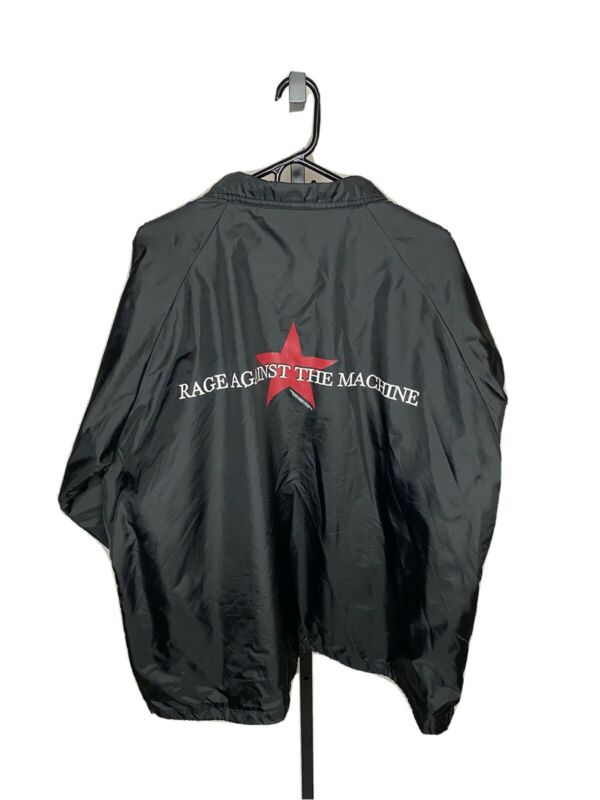 Rage Agsisnt The Machine Nylon Jacket Shirt