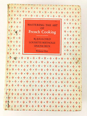 Mastering The Art of French Cooking Vol 1 Julia Child 20th Printing 1971 HB