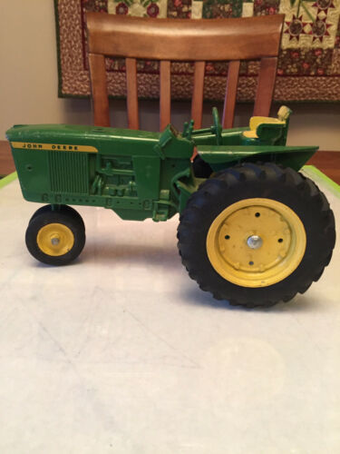 Vintage!!! Ertl 1960's John Deere 4020 3020 Toy Tractor with Diecast rims 1:16