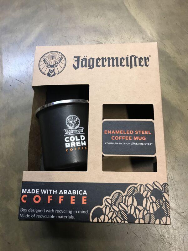Jagermeister Cold Brew  Enameled Steel Coffe Mug