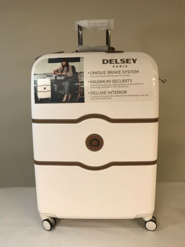Delsey Luggage Chatelet Hard+ 28 Inch 4 Wheel Spinner, Champ